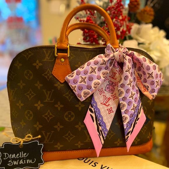 Authentic Vintage Louis Vuitton LV Alma